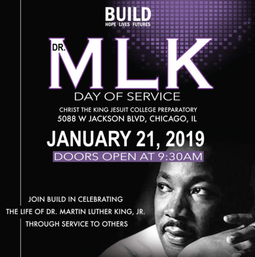 Martin Luther King Jr Service Day Build Inc